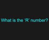 What is the R number