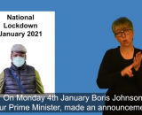 National Lockdown Jan 2021 BSL
