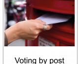 How to vote by post in BSL